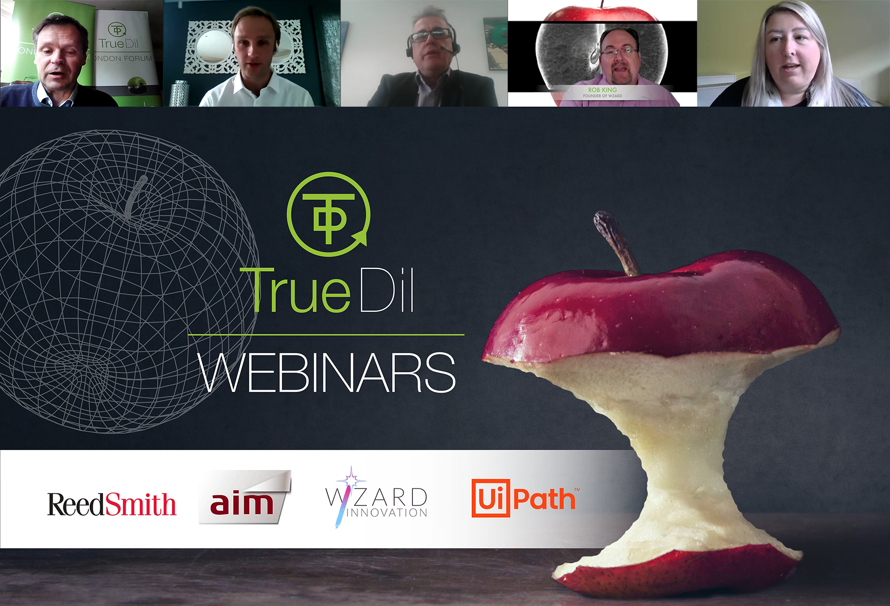 The true view of AI and RPA webinar banner