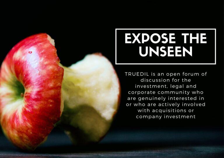 An apple core